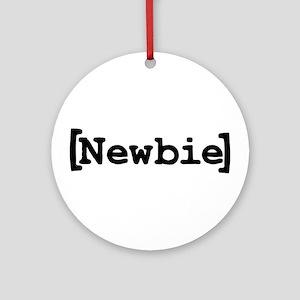 [Newbie] Ornament (Round)